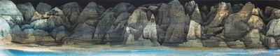 Wang Mansheng 王满晟, 'Mountain at Night', 2013
