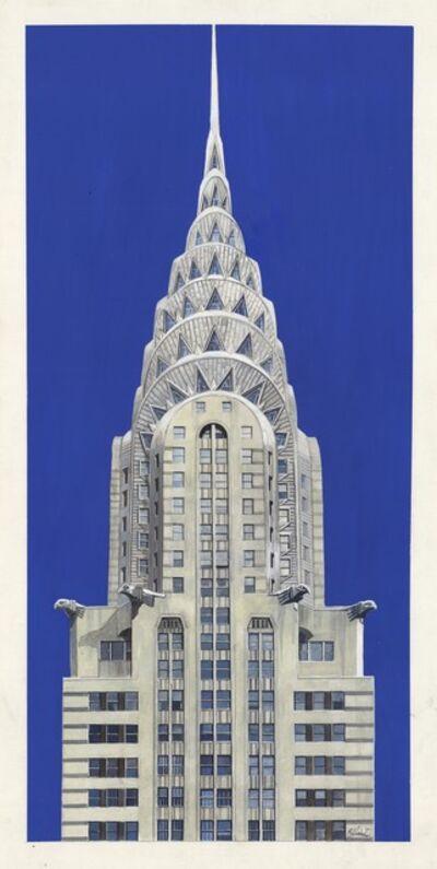 Richard Haas, 'Chrysler Building.', 1997