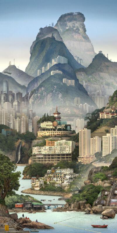 Emily Allchurch, 'Solitary Temple; Hong Kong', 2019