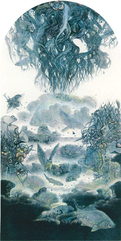 Kobayashi Keisei, 'Illusional Planet-Roots·V', 1995