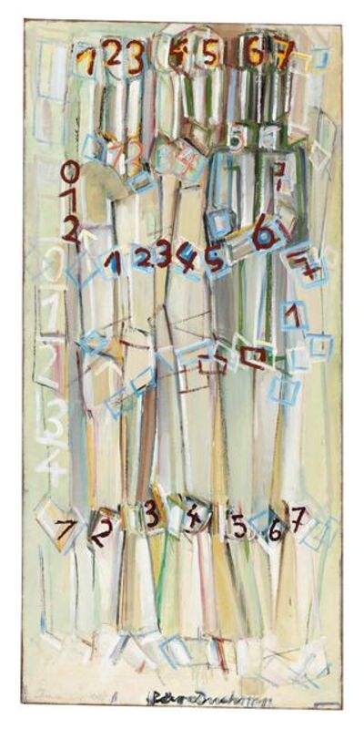 Oswald Oberhuber, 'Numbers (für Duchamp)', 1956