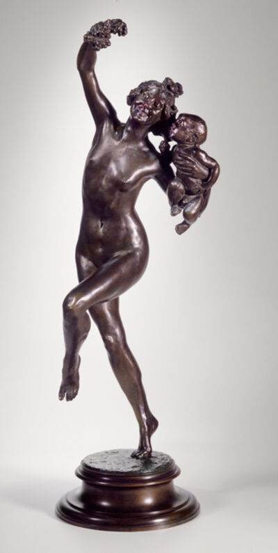 Frederick William MacMonnies, 'Bacchante and Infant Faun', 1894