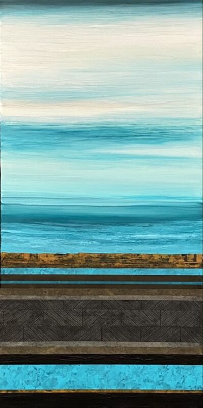 David Allan Paul, 'Midnight Over High Mesa', 2020