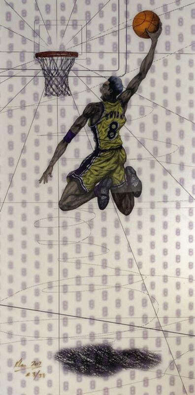 Keng Lau, 'Flying Tomahawk (Kobe Bryant)', 2017