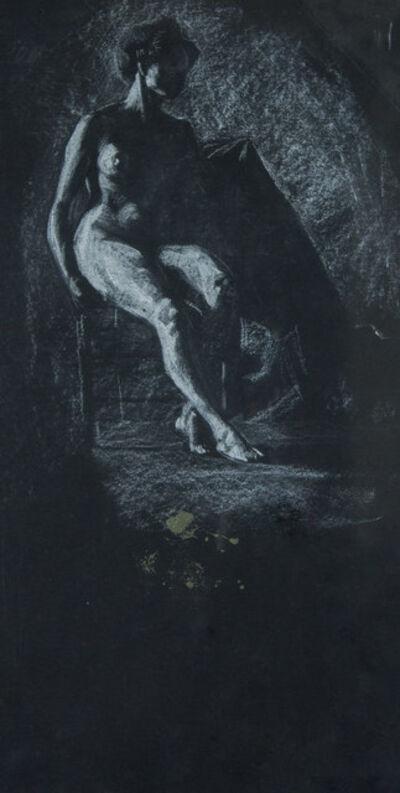 Frank Wilcox, 'Nude in Darkness', ca. 1908