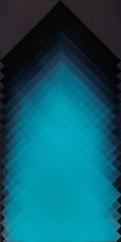 Marie Lannoo, 'Black, White + Blue 3', 2015