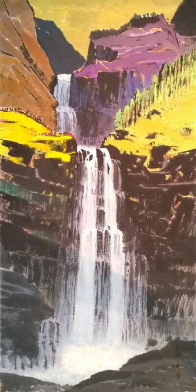 Ma Paisui 馬白水, 'Sandiaoling Waterfalls', 1981