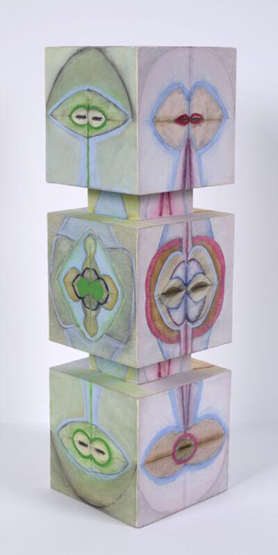Ida Kohlmeyer, 'Stacked #1', 1969