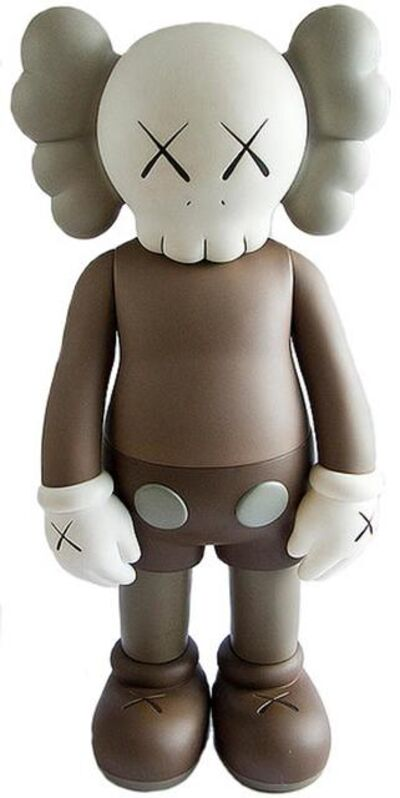KAWS, '5 years later companion (brown)', 2004