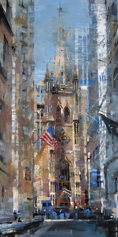 Mark Lague, 'Trinity Church Light', 2019