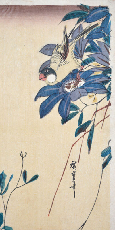 Utagawa Hiroshige (Andō Hiroshige), 'Java Sparrow', ca. 1840
