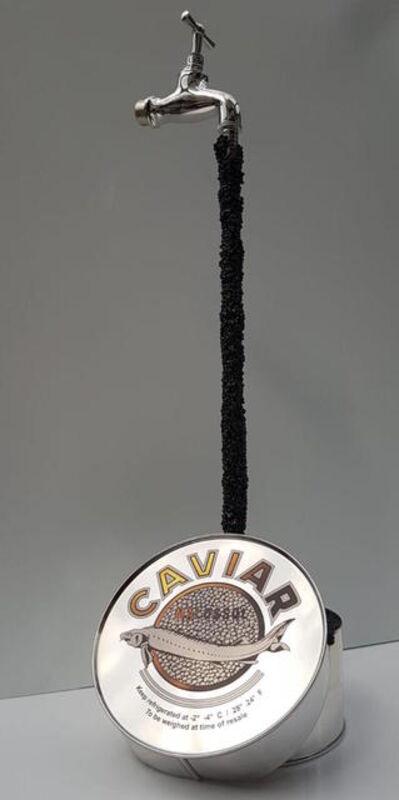 THOMAR, 'Caviar sculpture - silver ', 2019