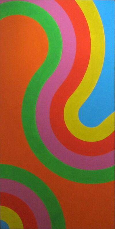 César Paternosto, 'Orange', 1965