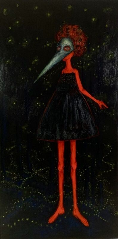 Holly Wilson, 'Dancing by the Light of the Fireflies She was Herself', 2019