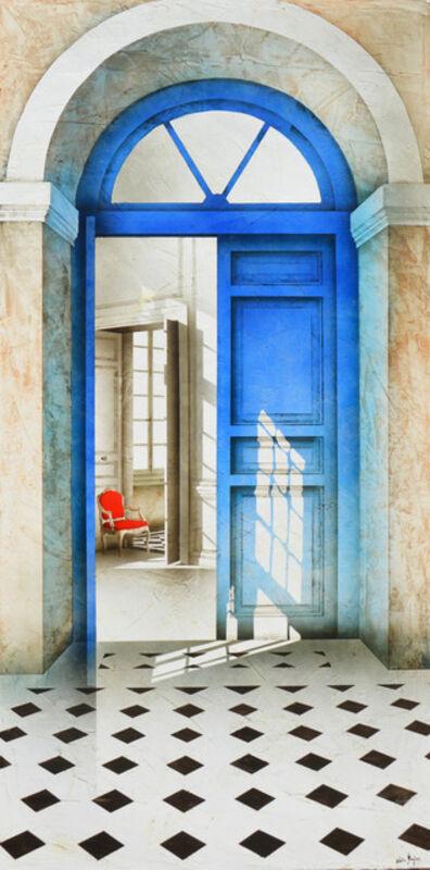 Alain Gazier, 'Porte bleue', 2018
