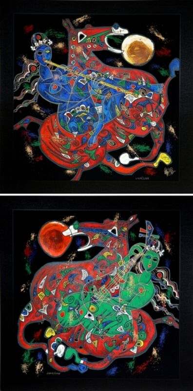Jiang Tiefeng, 'East and West (Freedom Suite)', 1991