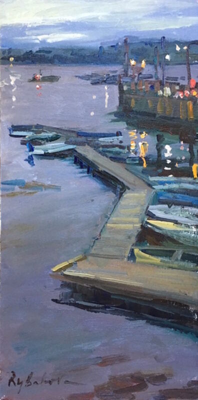 Irina Rybakova, 'Evening Dock', 2016