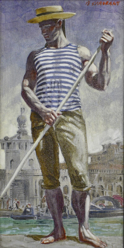 Mark Beard, 'Gondolier in Venice', date unknown