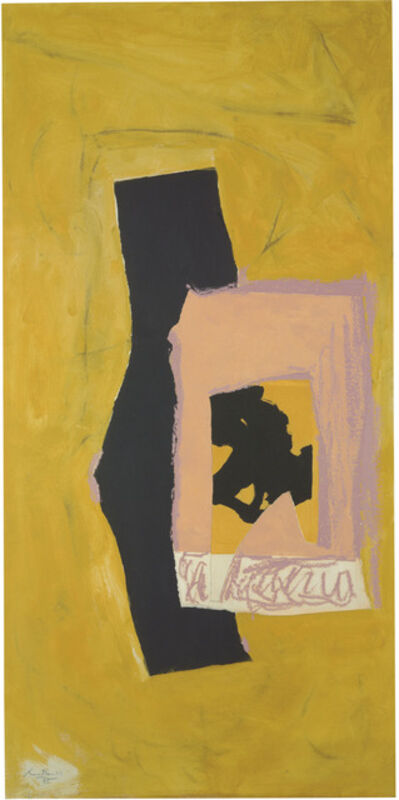 Robert Motherwell, 'Untitled', 1985