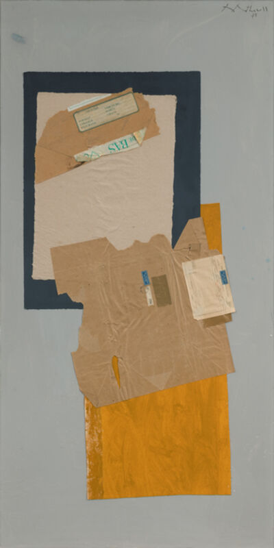 Robert Motherwell, 'From Below', 1975
