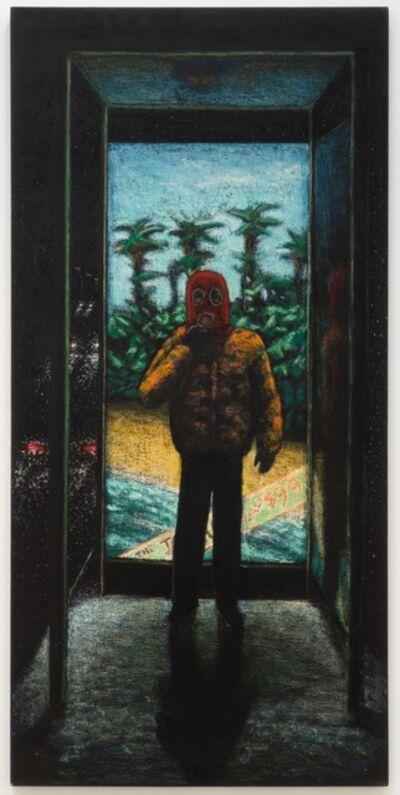 Jane Dickson, 'Bus Stop Boy', 1984