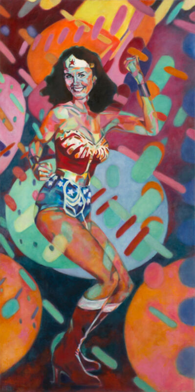 Daena Title, 'Wonder Woman at the Disco', 2016
