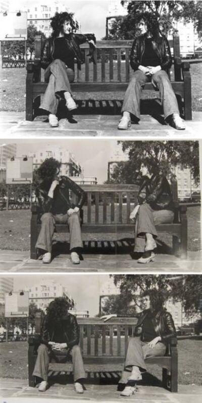 Rose Finn-Kelcey, 'Conversation Piece (Divided Self)', 1974