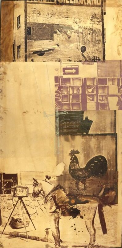 Robert Rauschenberg, 'Copperhead—Bite VIII / ROCI CHILE', 1985