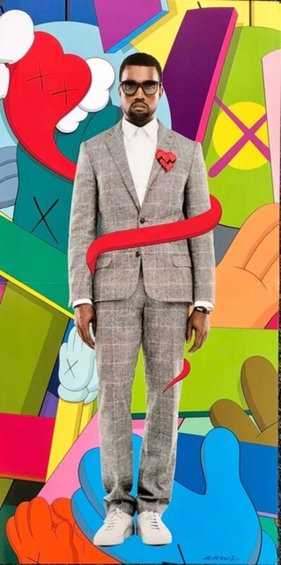 KAWS, 'KAWS Poster Art 2008 (KAWS Kanye West 808s and Heartbreak)', 2008