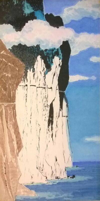 Ma Paisui 馬白水, 'Qingshui Cliff', 1965
