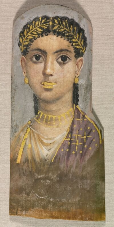 Egypt, Roman Empire, late Tiberian, 'Funerary Portrait of a Young Girl', c. 25-37