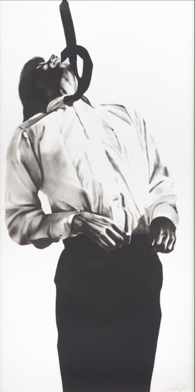 Robert Longo, 'Eric (Men in Cities)', 1985