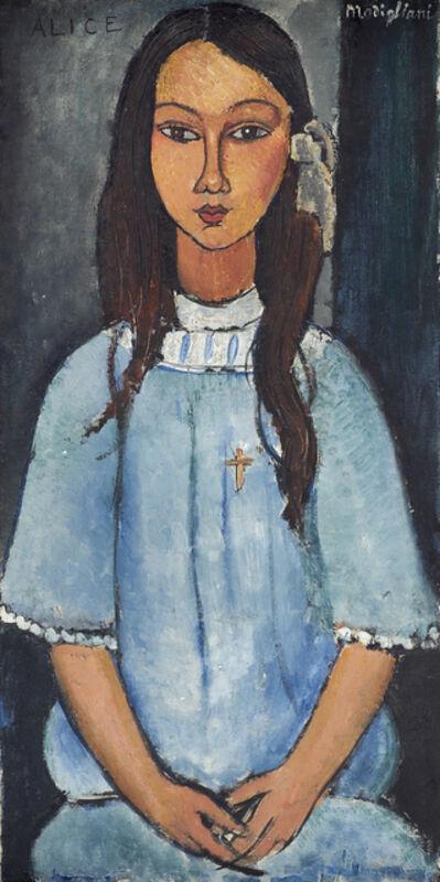 Amedeo Modigliani, 'Alice', ca. 1918