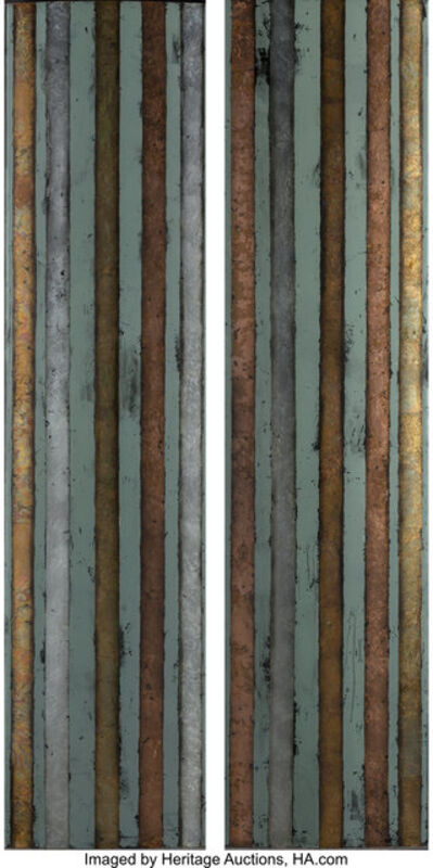 Judy Stabile, 'Untitled (two vertical panels)', 1998