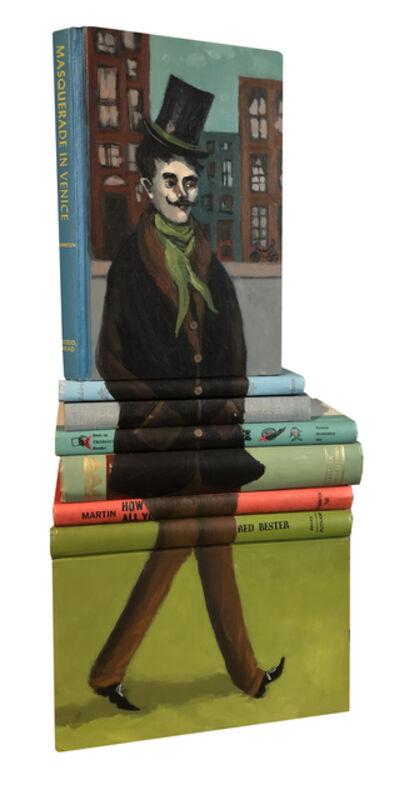"Mike Stilkey, '""Masquerade in Venice""', 2019"