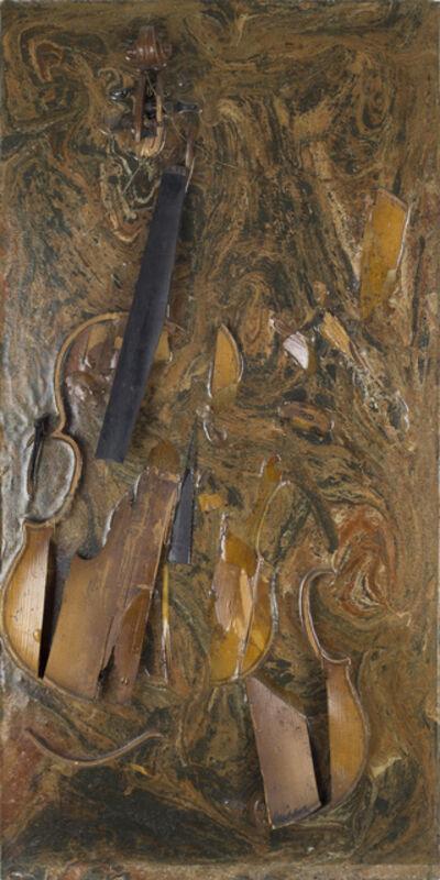 Arman, 'Burnt Violin ', 1966