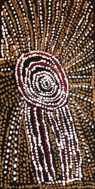 Bill Whiskey Tjapaltjarri, 'Rockholes Near the Olgas (NABWT_RNO10-070020PAG)', 2007