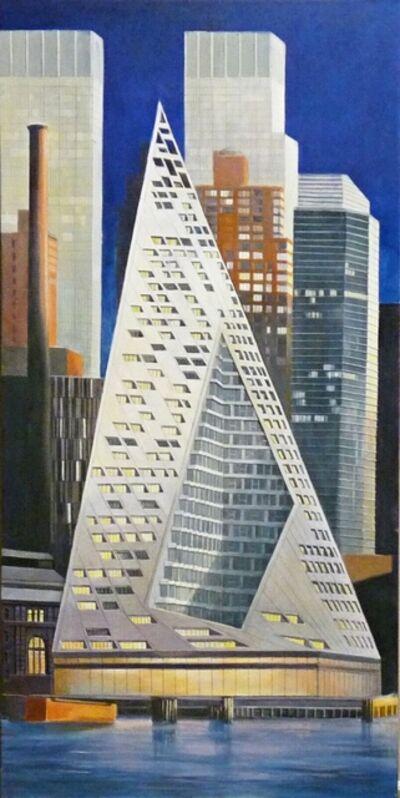 Richard Haas, 'VIA, 57 West Building by Bjark Ingels', 2017