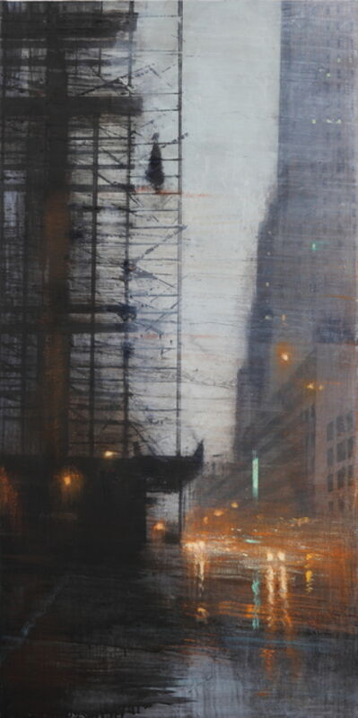 Alejandro Quincoces, 'Estructura bajo la lluvia', 2017