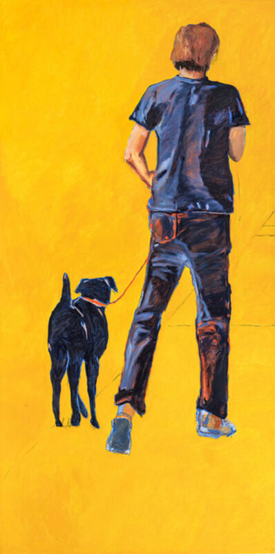 Tracy Child, 'Man and Dog', 2018