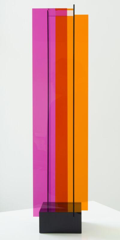 Carlos Cruz-Diez, 'Transchromie á quatre éléments', 1965-2010