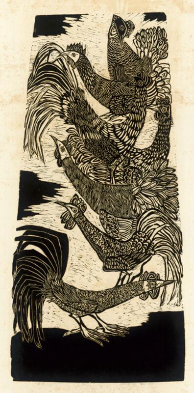 Chu Wei-Bor, 'Seven Chickens', 1970