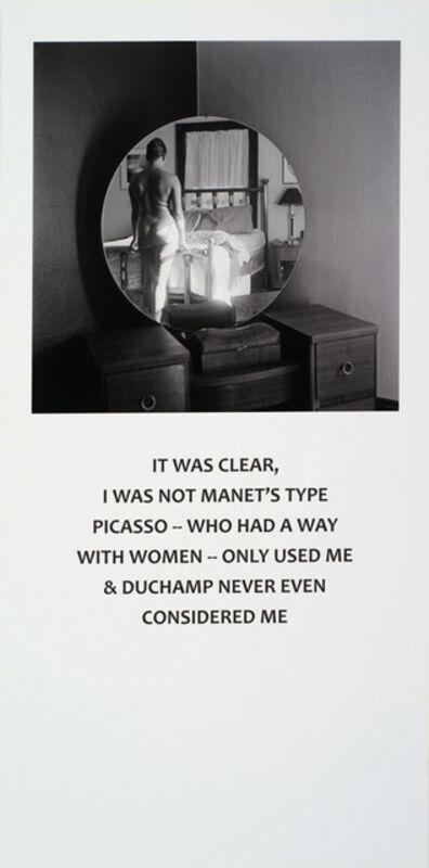 Carrie Mae Weems, 'Not Manet's Type ', 2001