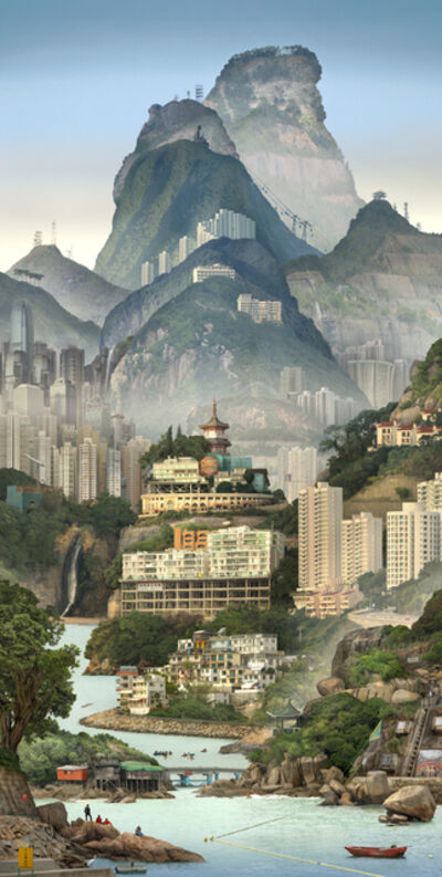 Emily Allchurch, 'Solitary Temple Hong Kong', 2019