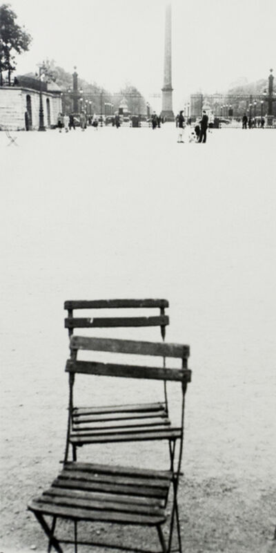 Robert Frank, 'Chairs, Paris', 1949