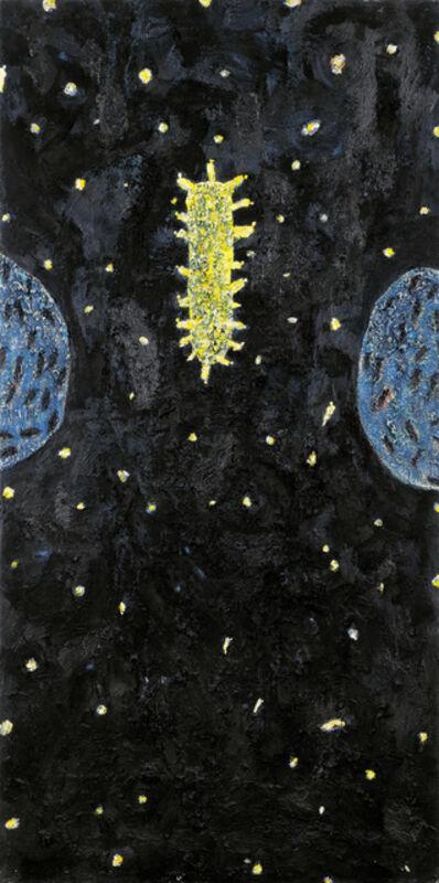 """Gunter Damisch, '""""Sternfeld Mittelwelt""""', 1990"""
