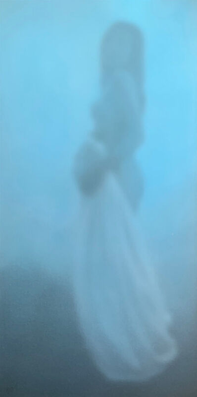 Nikolai Makarov, 'Frau im Nebel', 2019