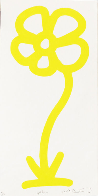 Michael De Feo, 'Yellow, 15 Anniversary Flower Print Series (Rainbow/Roy G. Biv Series)', 2007
