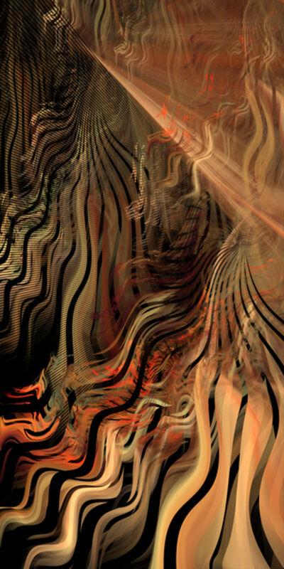 Gloria King Merritt, 'Sun in the Slot Canyon', 2017