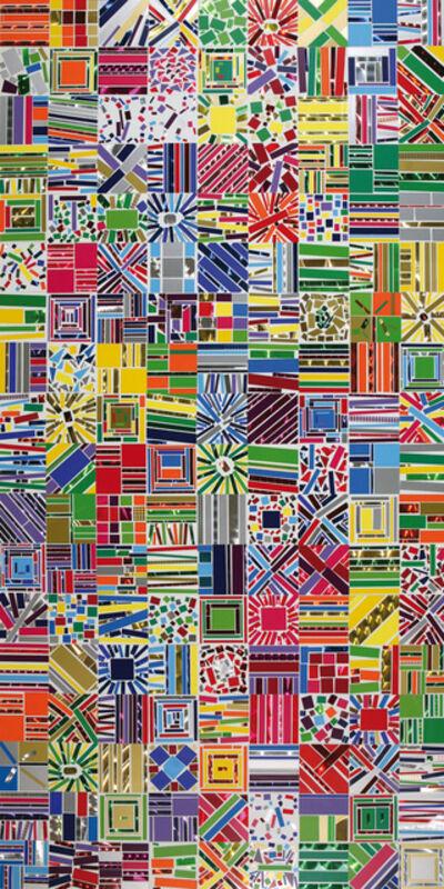 Arancha Goyeneche, 'Sticked Painting #1', 2012-2019